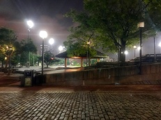 Pavilion at Baltimore's Inner Harbor