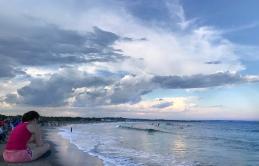 The beach at Narragansett