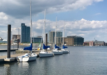 Inner Harbor seen from Key Highway